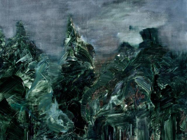 Night ( 100 x 120 cm )